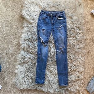 A&E jeans! Lightly worn